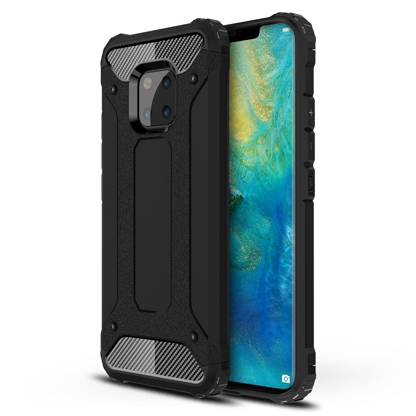 pretty nice 215e2 9715a Military Defender Shockproof Case - Huawei Mate 20 Pro (Black)